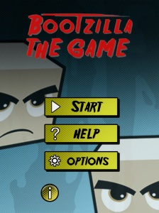 Bootzilla - Main Menu Screenshoot