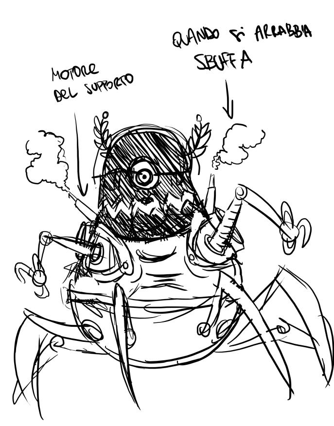 Boss sketch - Scary, ah? ;-)